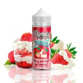 Strawberries & Cream 100 ml Ramsey E-Liquids Treats