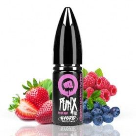 Punx Salts Strawberry Raspberry & Blueberry 10ml - Riot Squad