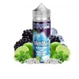 Black Grape, Lime Bubblegum Menthol 100ml - Kingston E-liquid