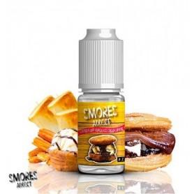 Aroma Churros and Vanilla Ice Cream - Smores Addict