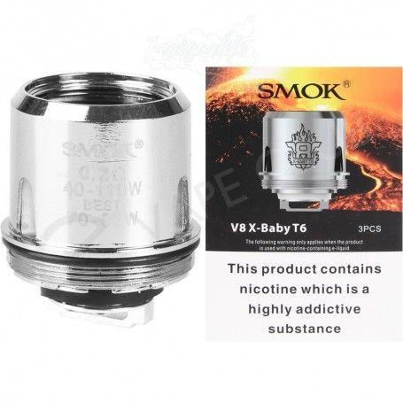 Smok V8 X Baby Coil T6