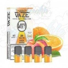Toni Pod Peach Orange 20mg/ml (4pcs) - Vaze