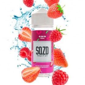 nacho Strawberry Raspberry 100 ML - Sqzd Fruit Co