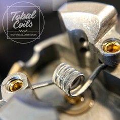 Resistencias Mini Single 0.40 Ohm - Tobal Coils