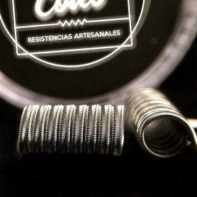 Resistencias Erizo Stacked 0.33 Ohm - Tobal Coils
