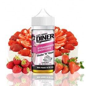 Strawberry Shortcake 50ml - Late Night Diner
