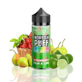 Strawberry Pear & Lime 100ML - Moreish Puff Fruits